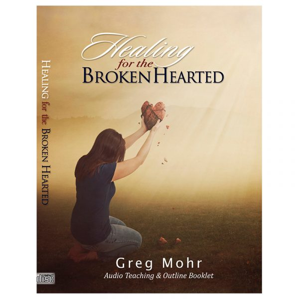 Cover art for Greg Mohr's Teaching Healing For the Broken Heart